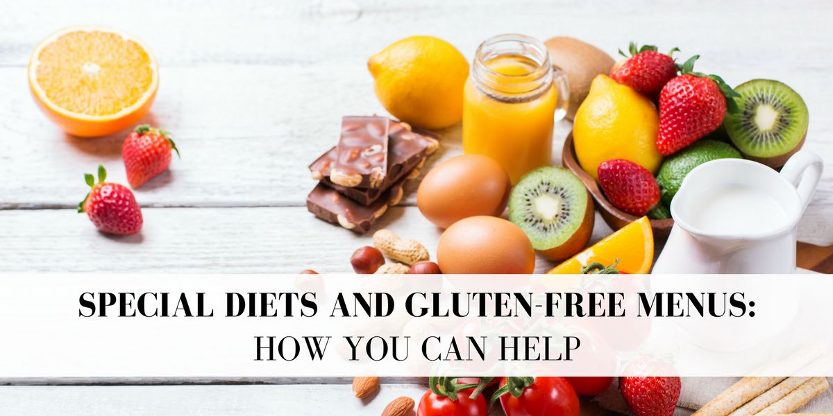 Special Diets & Gluten-Free School Menus: How You Can Help